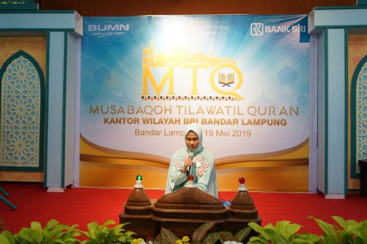 MTQ BRI Ingatkan Semangat dan Tanggung Jawab Kerja