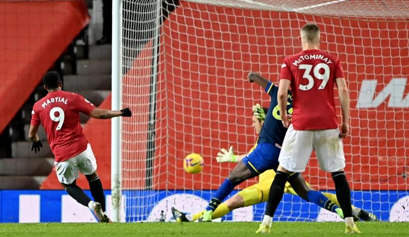 MU Menggunduli Southampton 9-0
