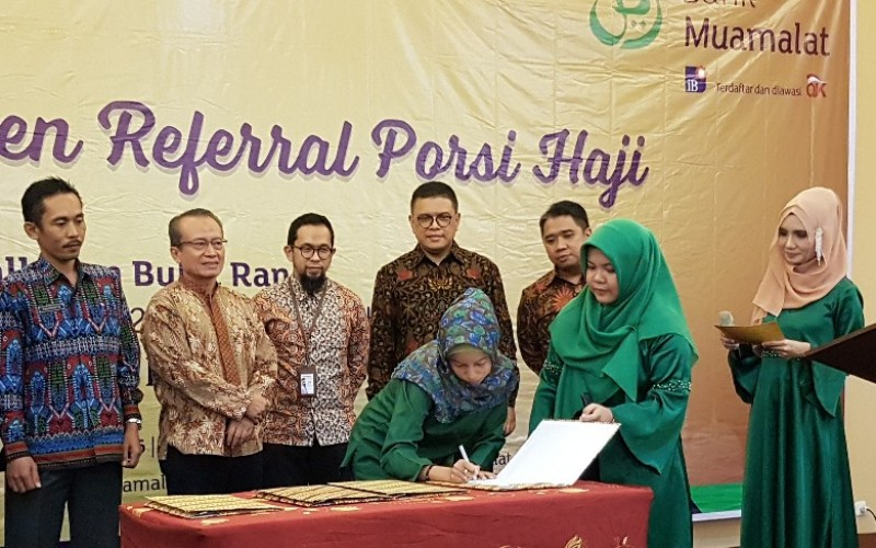 Muamalat Cabang Lampung Siap Akomodir Pendaftar Haji