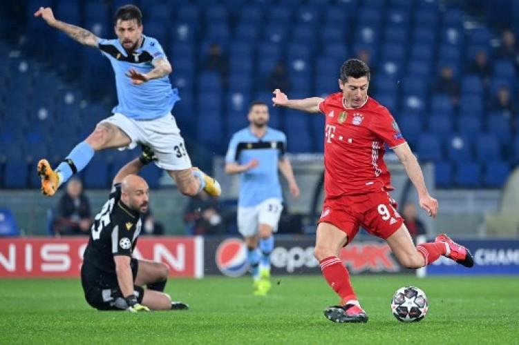 Muenchen Bantai Lazio 4-1