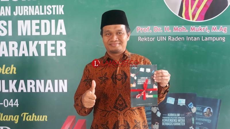 Mufti Salim: Disertasi Kekinian Jadi Awal Kontribusi Positif Untuk Insan Pers di Lampung