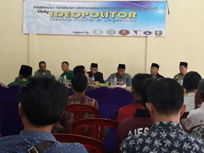 Muhammadiyah Lampung Barat Gelar Dialog Ideopolitor