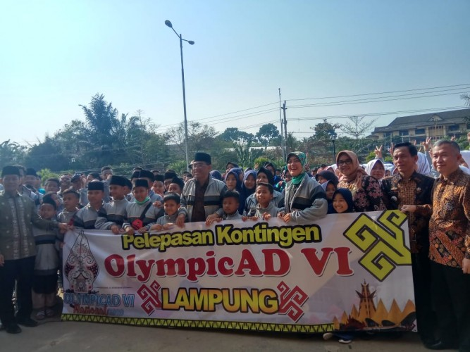 Muhammadiyah Lampung Kirim 819 Peserta ke OlympicAD VI