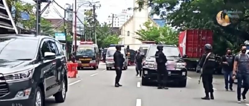 MUI Kecam Keras Peledakan Gereja Katedral Makassar