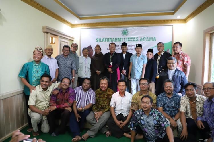 MUI Lambar-Pemimpin Gereja Se-Lampung Ajak Warga Jaga Kerukunan Antaragama