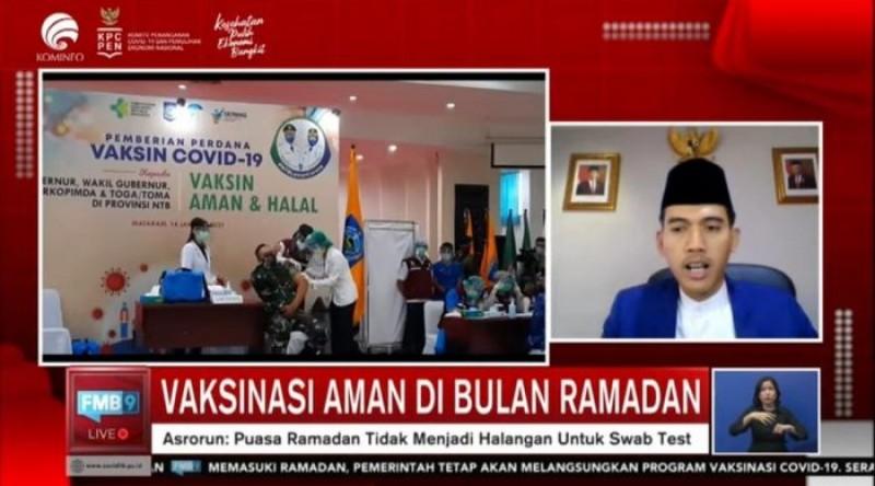 MUI Perbolehkan Vaksinasi saat Ramadan Dilakukan di Masjid