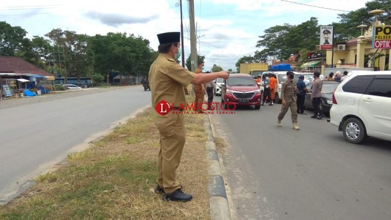 Mulai Hari Ini Pendatang Masuk Bandar Lampung Wajib Rapid Test