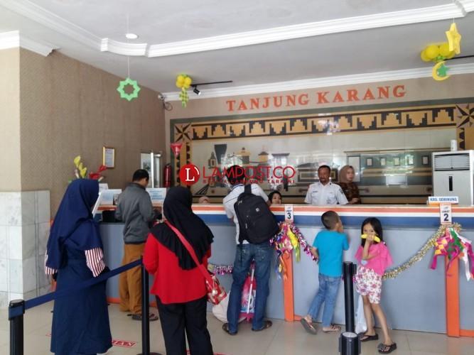 Musim Mudik Lebaran 2018, KAI Lampung Berangkatkan 49.630 Penumpang