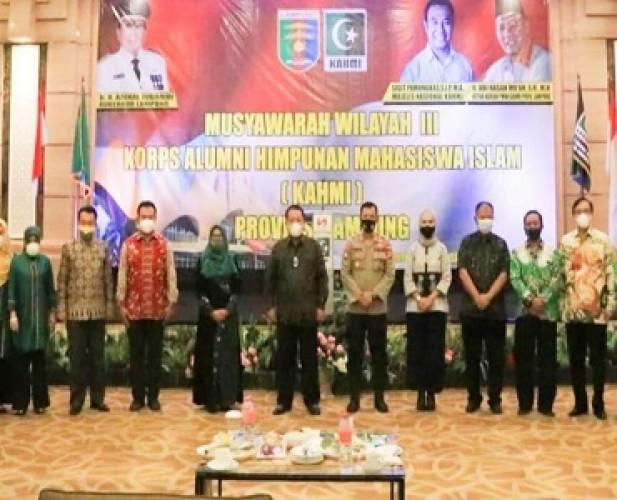 Muswil KAHMI Lampung Wadah dalam Memberikan Kontribusi bagiPembangunan Daerah
