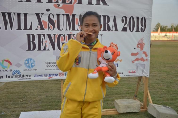 Nabella Tambah Satu Perunggu bagi Lampung di Porwil