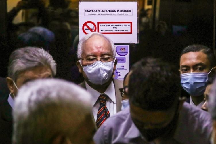 Najib Razak Bebas Smeentara dengan Jaminan Rp3,4 Miliar