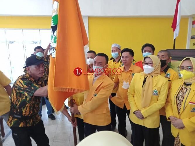 Nakhodai Golkar Metro, Subhan Targetkan Kemenangan Pemilu 2024