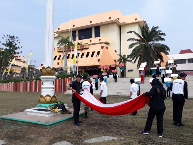 Nama dan Asal Sekolah Paskibraka Yang Bertugas pada Upacara HUT RI di Lampung