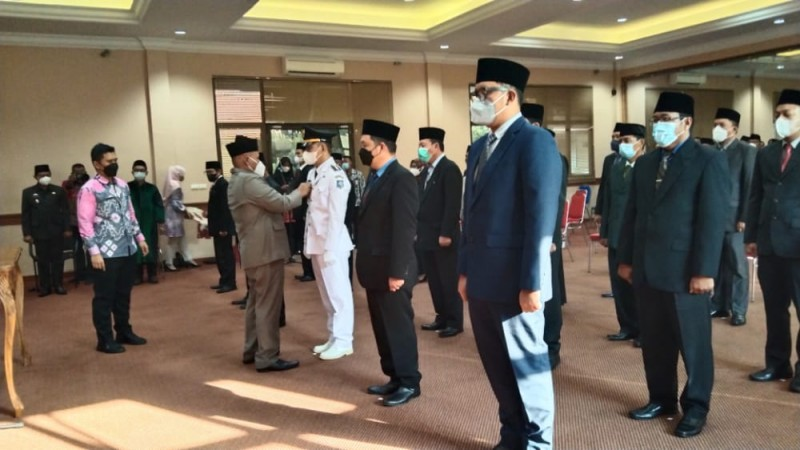 Nanang Ermanto Lantik 23 Pejabat Eselon III Pemkab Lampung Selatan