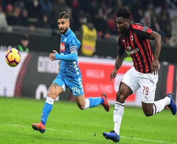 Napoli Vs Milan Imbang Statistik, Beda Motivasi