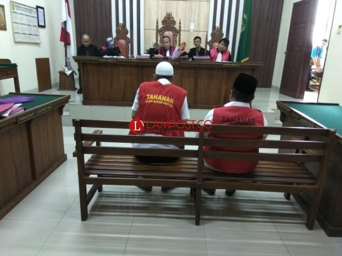 Narkoba, Dua PNS Bandar Lampung Dituntut 15 Bulan Penjara