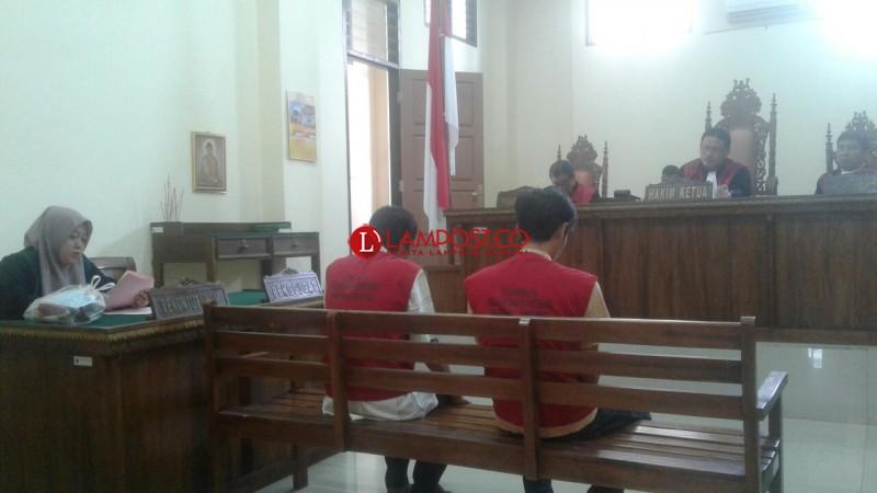 Narkoba, Dua PNS Kota Bandar Lampung Jalani Sidang