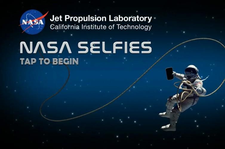 NASA Rilis Aplikasi Swafoto
