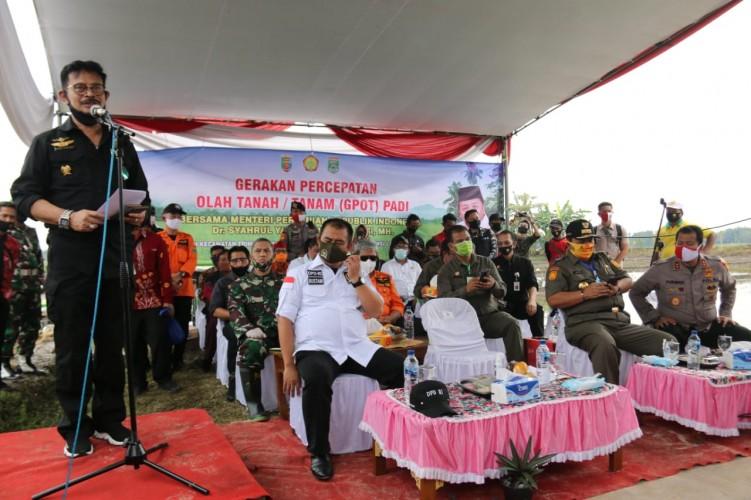 NasDem Dorong Lampung TulangPunggung Ketahanan Pangan Nasional