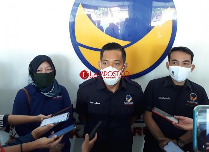 NasDem Finalkan Paslon, di Way Kanan Kebijakan Adipati Tentukan Wakil