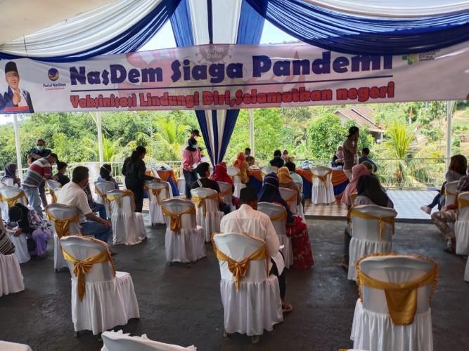 NasDem Lampung Bantu Percepatan Vaksinasi