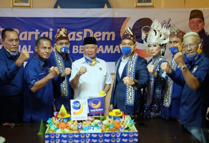 NasDem Lampung Dorong Ekonomi Kerakyatan dan Bangkit Melawan Covid-19