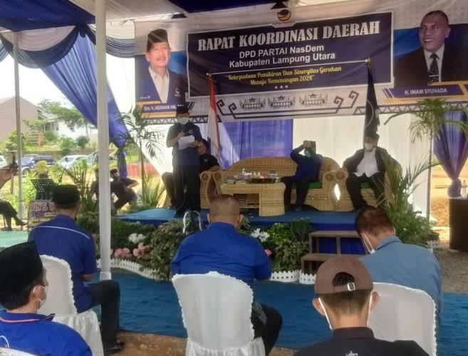 NasDem Lampura Ditarget Rebut Kursi Ketua DPRD
