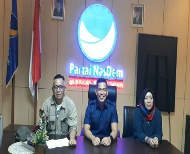 NasDem Sambut Syahrul Yasin Limpo Bahas Pertanian Lampung