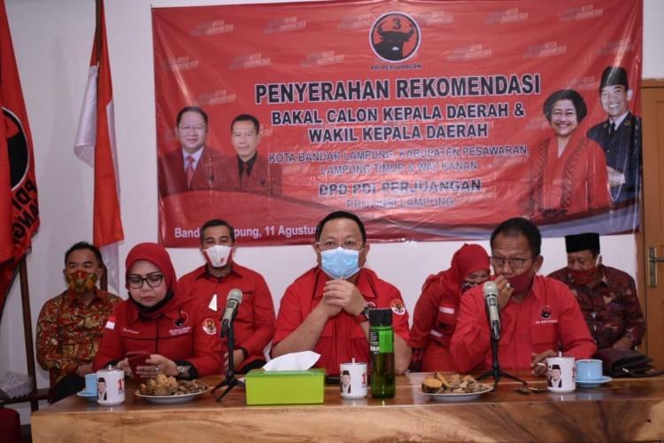Nasib Tulus Purnomo dan M Nasir di PDIP Tergantung Megawati