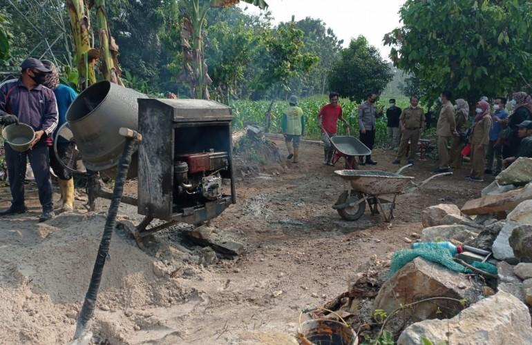 Natar Optimalkan Dana Desa untuk Pembangunan Infrastruktur