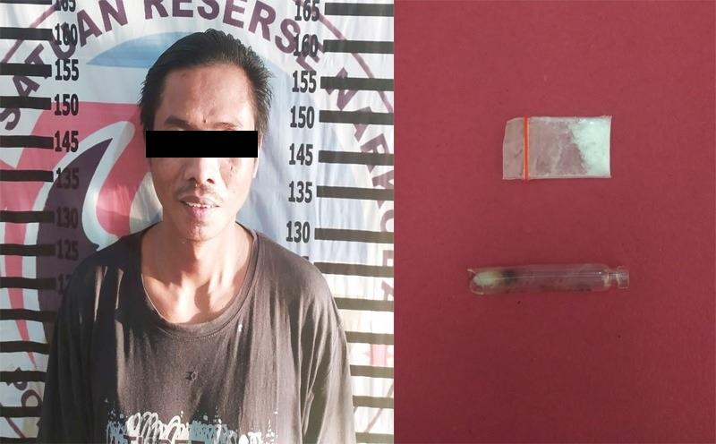 Nelayan Pemakai Sabu di Tulangbawang Ditangkap