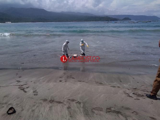 Nelayan Pesisir Barat Temukan Mayat Terapung di Tengah Laut