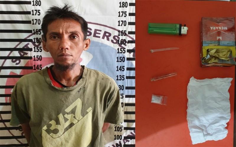 Nelayan Tuba Pengedar Sabu Ditangkap