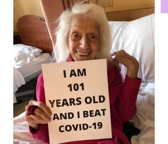 Nenek 102 Tahun Ini Kalahkan Covid-19 Dua Kali