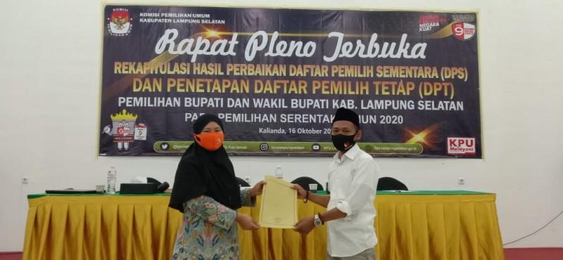 NIK Ganda, 6.702 Nama Pemilih di Lamsel Dicoret dari DPT