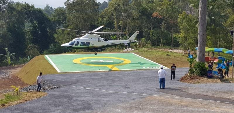 Nikmati Serunya Berwisata Menggunakan Helikopter dari Tegal Mas