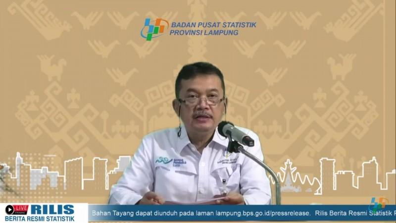 Nilai Tukar Petani Lampung Naik 1,21%