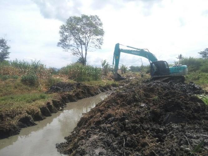 Normalisasi Sungai di Lamsel Hanya Janji Tak Pasti
