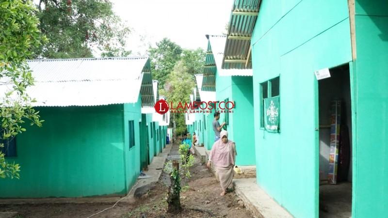 NU Resmikan Pemakaian Hunian Sementara di Desa Banding
