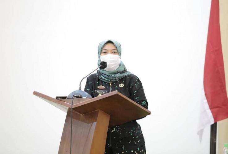 Nunik Pacu Lampung Layak Anak dan Ramah Perempuan