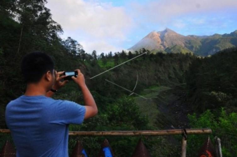 Objek Wisata di KRB III Gunung Merapi Ditutup