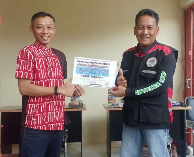 Ojol Lampung Dapat Bantuan Modal Kerja Hingga Rp25 Juta