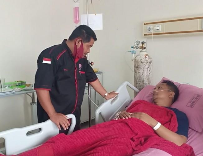 Oknum Inspektorat Lamtim Dibawa keRS Ahmad Yani Metro karena Jantungan