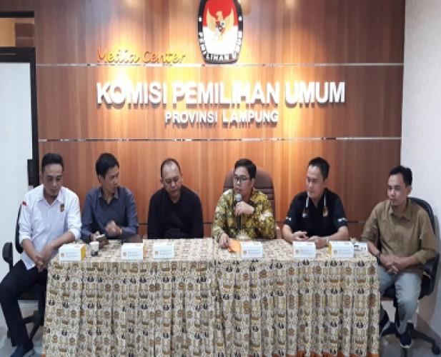Oknum Lain Terlibat, KPU Lampung Serahkan ke Proses Hukum