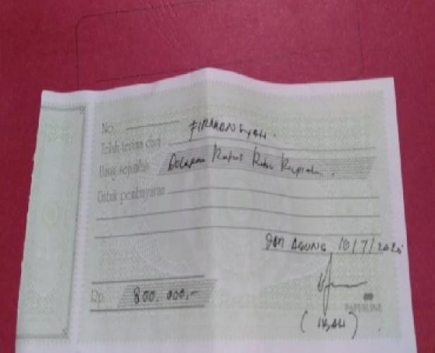 Oknum Petugas KUA Jatiagung Pungut Rp800 Ribu untuk Duplikat Surat Nikah