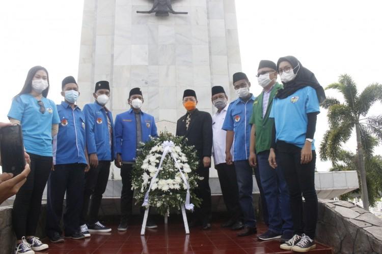 OKP dan BEM Khidmat Hadiri Apel Pemuda KNPI Bandar Lampung