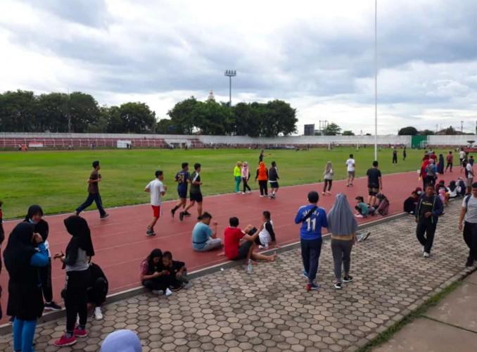 Olahraga di Stadion Lalai 3M