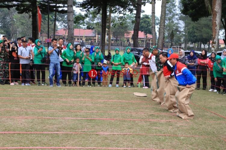 Olahraga Tradisonal Meriahkan HUT ke-74 RI di Lambar