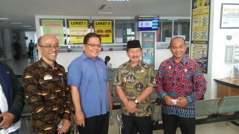 Ombudsman Menyidak Pelayanan Satu Atap di Bandar Lampung