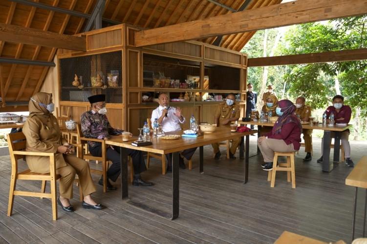 Ombudsman Koordinasi dengan Pemkab Tubaba soal Program Masuk Desa